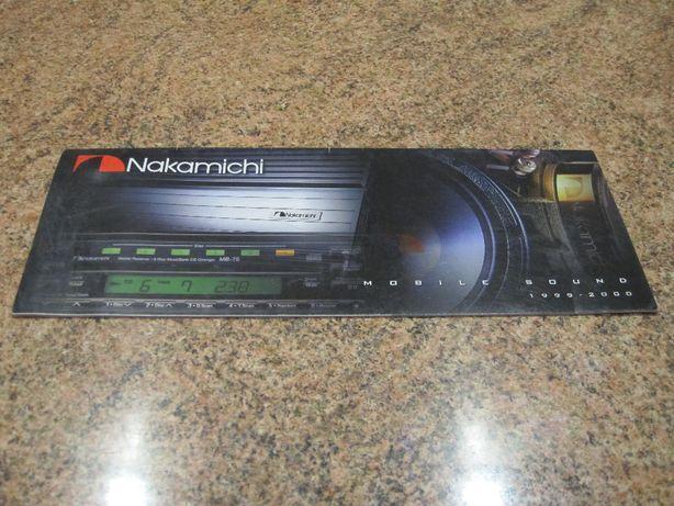 Katalog Nakamichi 2000 rok