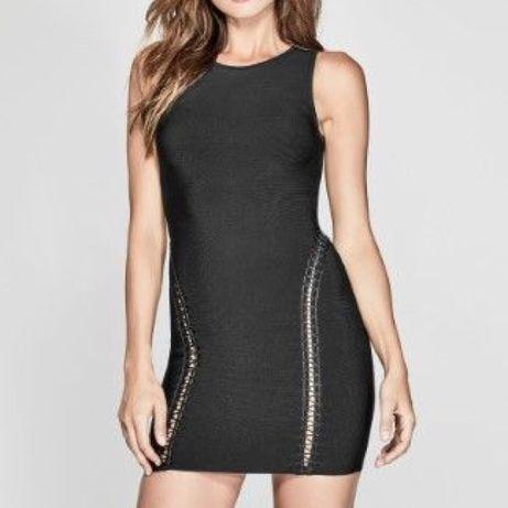 Sukienka czarna marki Marciano by Guess.