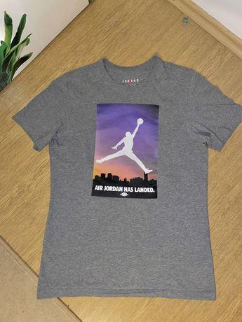 Koszulka T-shirt Nike Air Jordan szara