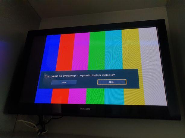 telewizor tv plazma Samsung 42 cale PS42B430 stan idealny + uchwyt