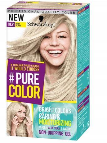 Schwarzkopf Pure Color Farba 10.21 Baby Blond