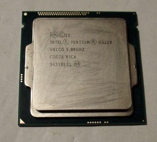 2-х ядерный процессор Intel Pentium G3220 / 3.0GHz / сокет 1150