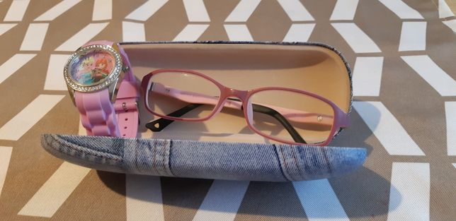 Okulary korekcyjne+GRATIS!!! dla dziewczynki