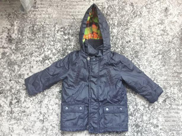Куртка на хлопчика тепла куртка парка  9 - 12