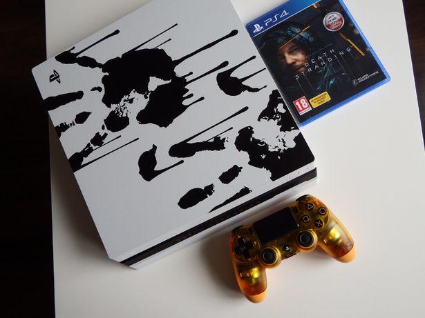 PS4 PRO LIMITED Edition Death Stranding GWARANCJA dysk 1TB karton gra