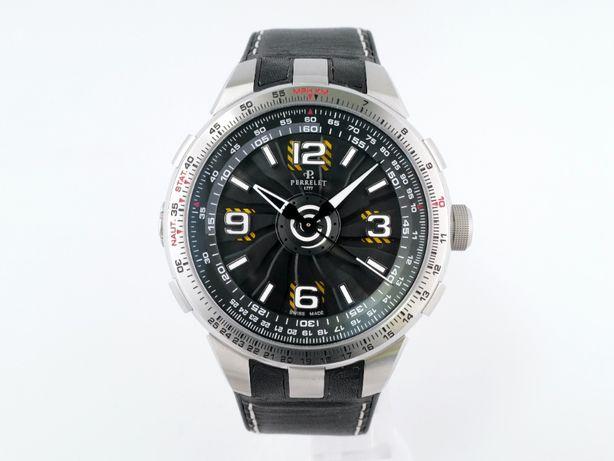 Мужские новые часы Perrelet Turbine Pilot 48 мм