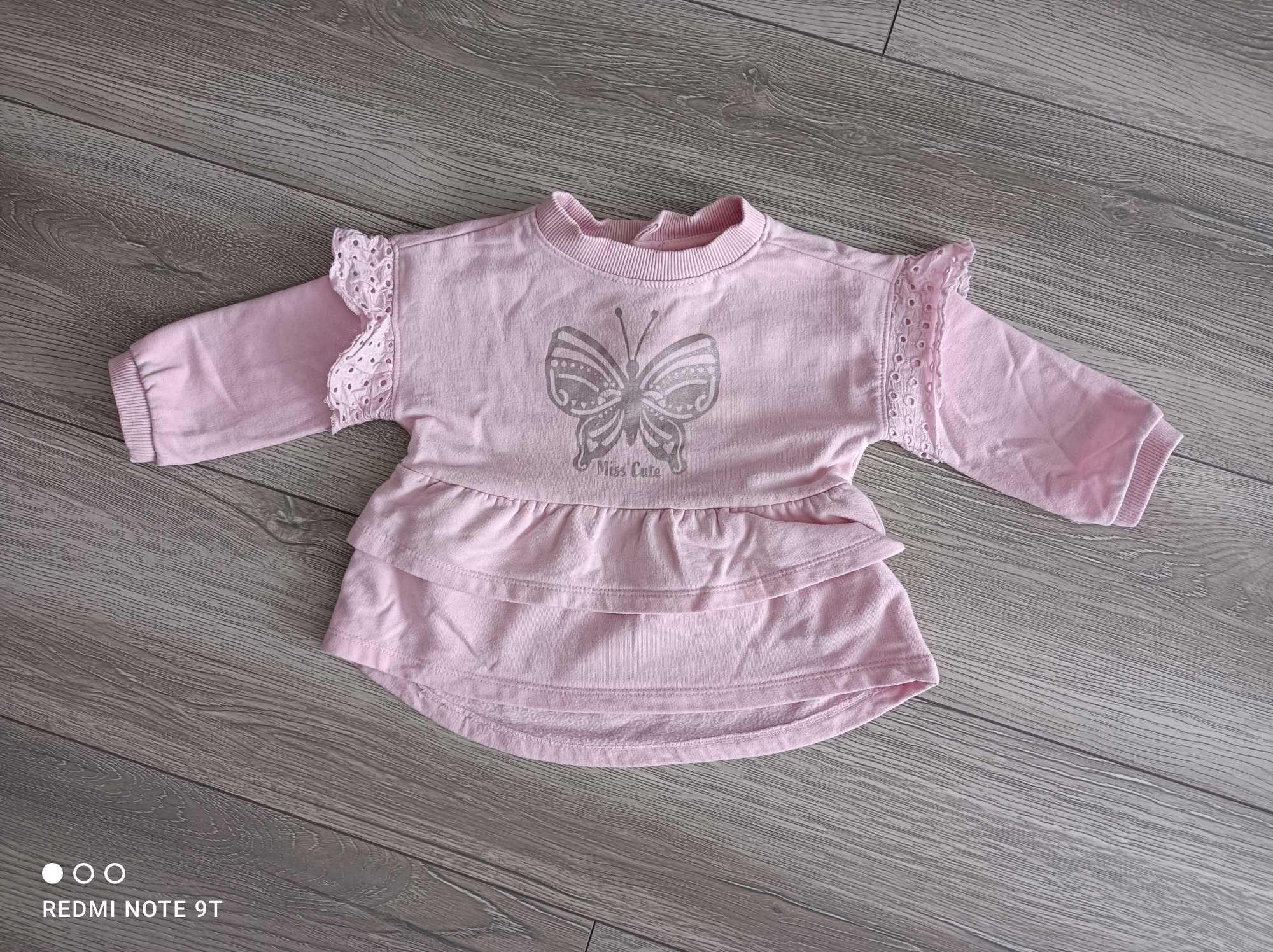 Bluza dla dziewczynki rozmiar 80
