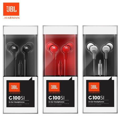 => ОРИГИНАЛ! гарнитура JBL C100Si вакуумные наушники с микрофоном