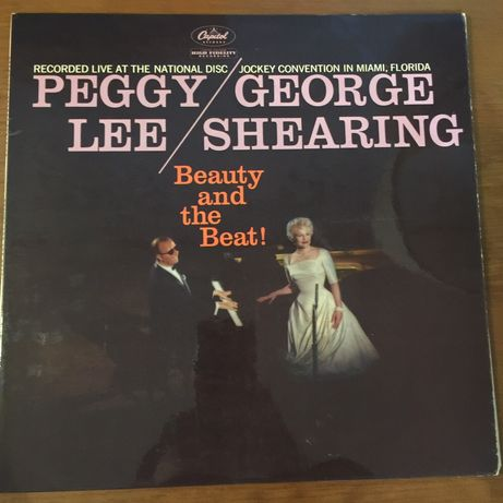 Vinil Peggy Lee George Shearing - Beauty and the beat - UK