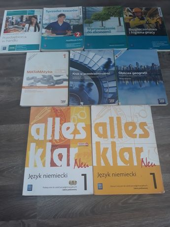 Książki technikum/liceum