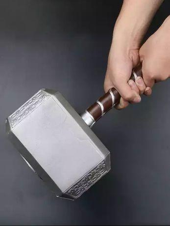 Młot thora dla dzieci i dorosłych. Mjolnir Avengers Marvel 45 cm.
