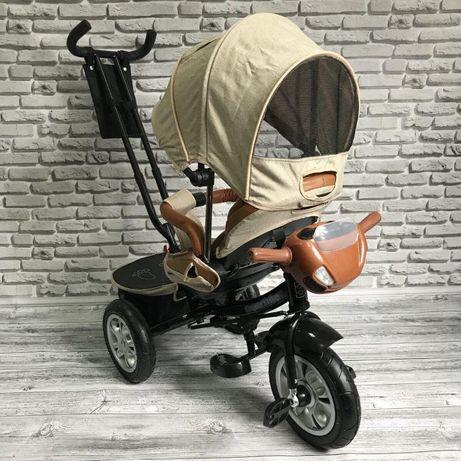 Детский трехколесный велосипед Best Trike 5099 (БЕЖЕВЫЙ)