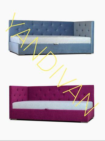 Двухспальная Кровать Камила с Боковой спинкой.2 изголовья+матрас!АКЦИЯ
