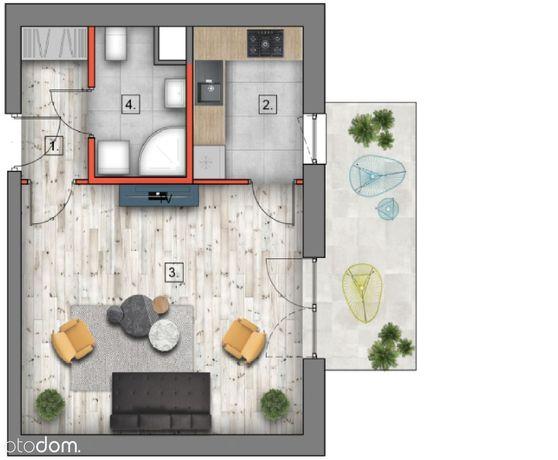 Mieszkanie nad Zalewem Zemborzyckim 37 m2, Lublin