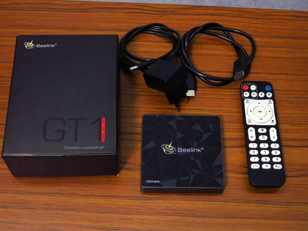 Смарт ТВ приставка beelink gt1 ultimate