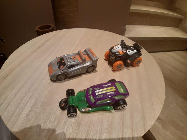 Hot Wheels action man samochód autko quad Marvel smyk empik 3 szt