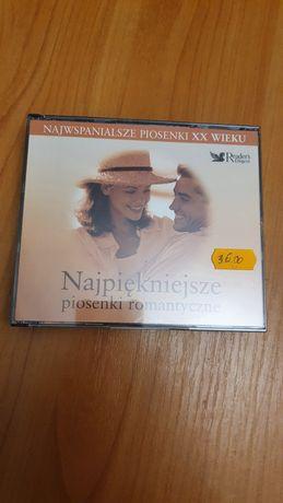 Najpiękniejsze piosenki romantyczne 3xCD