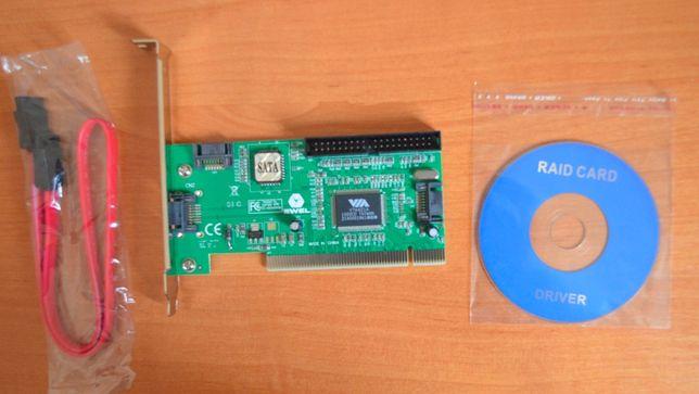 Переходник PCI, SATA + IDE. НОВЫЙ. И Другие.
