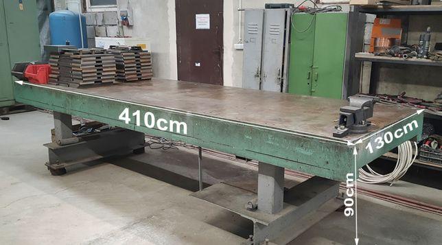 SOLIDNY Stół spawalniczy montażowy warsztatowy 410x130x90