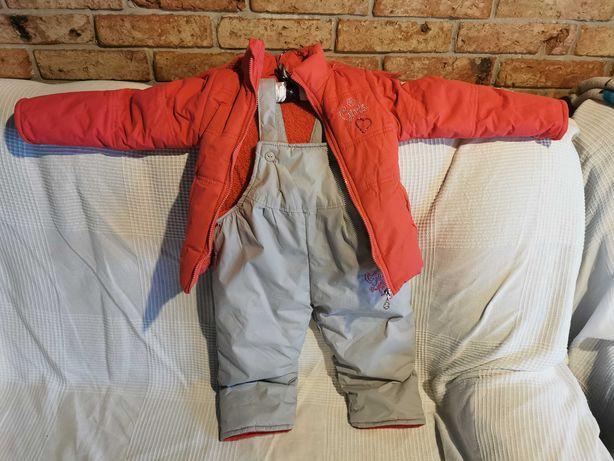 Komplet narciarski dziecięcy/zimowy rozmiar 98-104