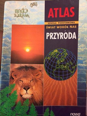 Atlas szkoła podstawowa świat wokół nas przyroda