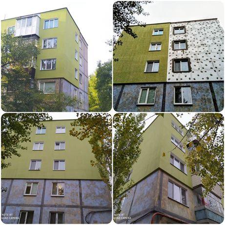 450 грн/м2 Утепление фасадов квартир,домов пенопластом