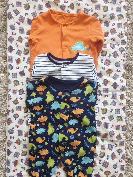 Боди человечки одежда мальчик девочка 50 56 62 0-3 месяца