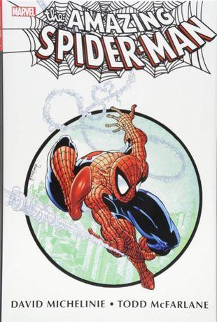 MARVEL-The Amazing Spider-Man Omnibus by Michelinie&Bagley BAIXA PREÇO