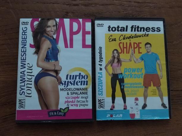 Fitness treningi. Modelowanie, spalanie. Szczupłe nogi, płaski brzuch.