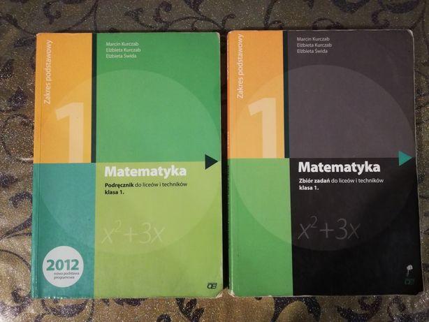 Podręcznik i ćwiczenia matematyka liceum/technikum klasa 1