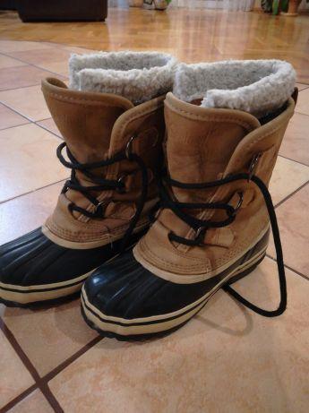 Kozaki śniegowce trzewiki buty zimowe dziewczęce Seeland rozmiar 33