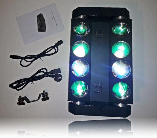 Oświetlenie sceniczne SPIDER Light RGBW 8x12W LED