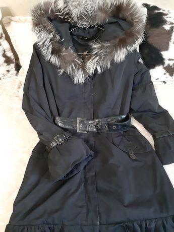 Зимова куртка довга, пальто