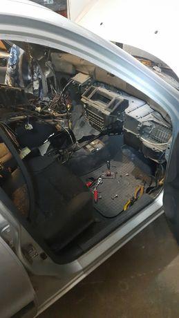 Замена радиатора печки авэо ланос матиз