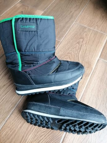 Śniegowce zimowe chłopięce buty roz . 33