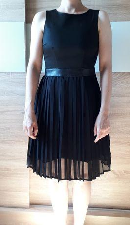 Sukienka wizytowa czarna XS