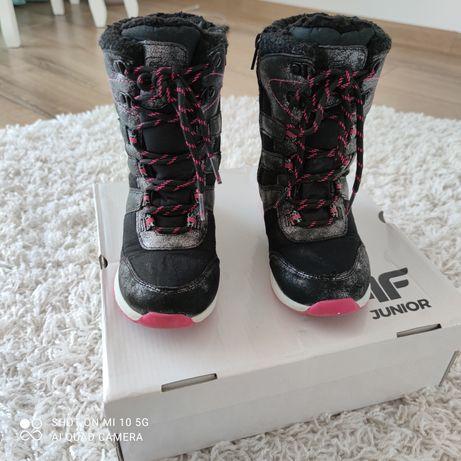 Buty zimowe dziewczęce r.30
