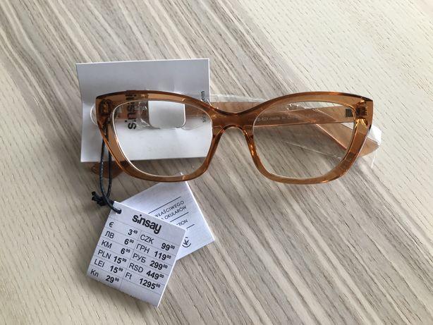 Sinsay okulary oprawki zerówki