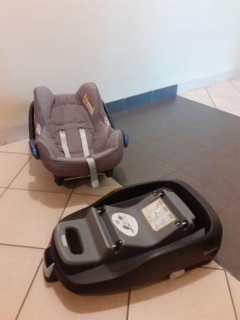 Fotelik nosidełko Maxi-Cosi + baza Family Fix