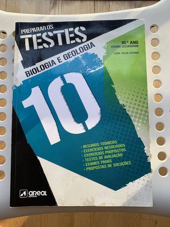 Livro Preparar os Testes Biologia 10° Ano
