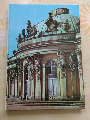 "Книга ""Дворец и парк Сан-Суси."" Потсдам. Германия"