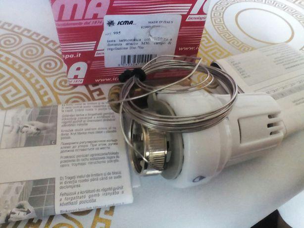 Термостатическая головка Icma №995 с выносным датчиком 30х1,5 20-70°С