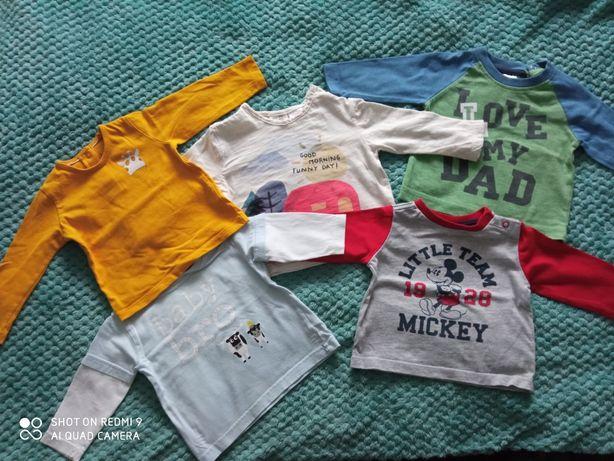 Bluzeczki 68 Chlopiece