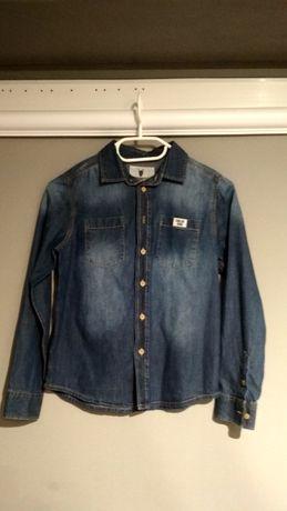 Koszula jeansowa r.140