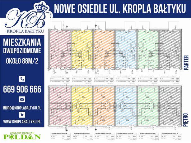 Darłowo, ul. Kropla Bałtyku mieszkanie 2-poziomowe
