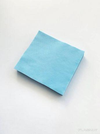 Заготовка для масок из голубого спанбонда 17*18 см
