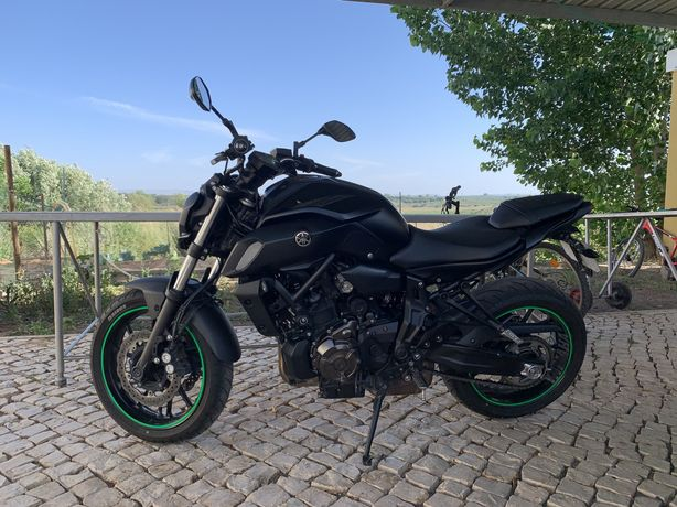 Yamaha Mt 07 35KW 2019