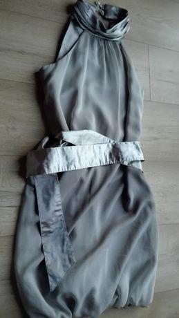 Sukienka Elizabeth z paskiem rozmiar 34/36 wesele, chrzciny..
