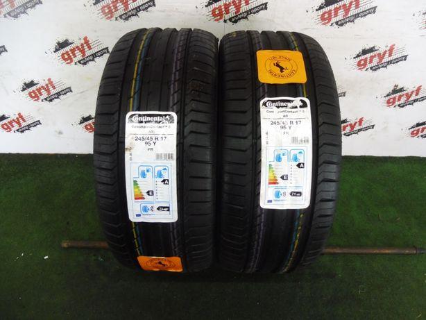 Opony Continental Conti Sport Contact TM5 AO 245/45/17
