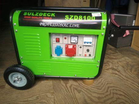 Agregat prądotwórczy SULZDECK SZD8100